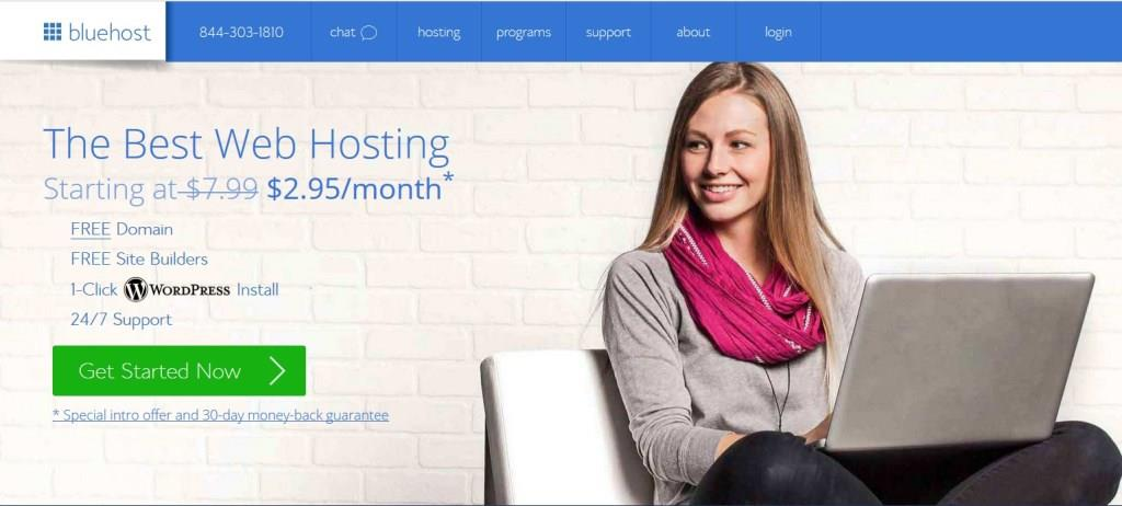 BlueHost - Web Hosting