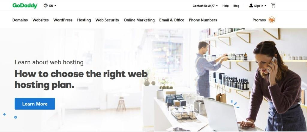 GoDaddy - Web Hosting