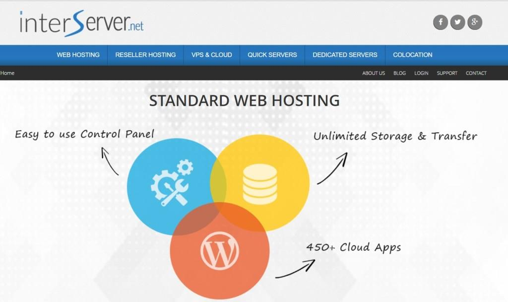 InterServer - Web Hosting