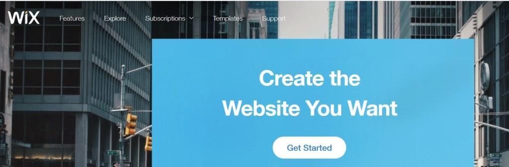 WIX - Web Hosting